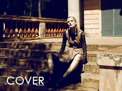 "InCover Magazine ""In the garden"""